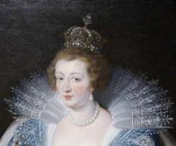 Anne d autriche portrait