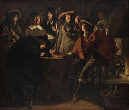 Le nain tabagie 1643