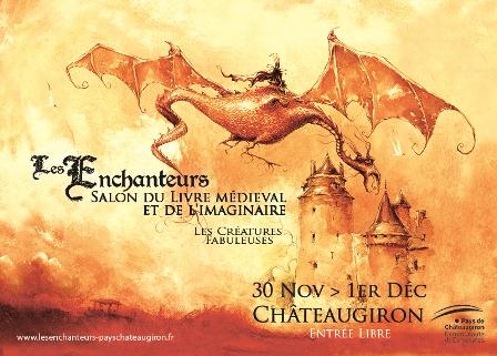 Salon du livre medieval et de limaginaire les enchanteurs chateaugiron 52725e40aa42b